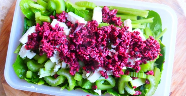 beetroot walnut dip salad smalla